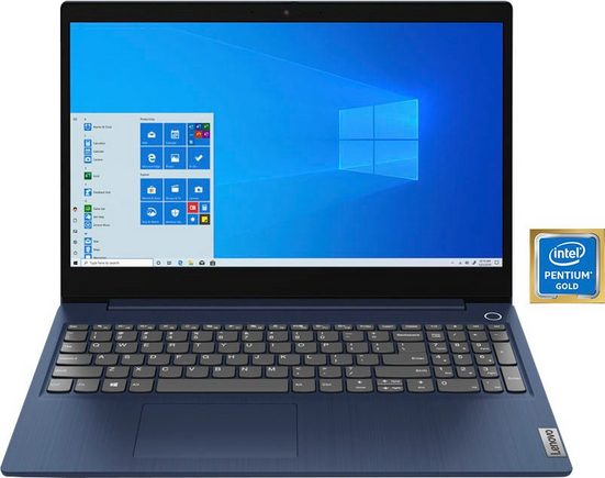 Lenovo IdeaPad 3 15ITL05 Notebook (39,62 cm/15,6 Zoll, Intel Pentium Gold, UHD Graphics, 512 GB SSD)
