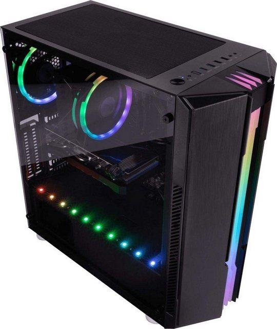 CAPTIVA G15IG 20V2 Gaming-PC Intel Core i7 10700F, RTX 3070, 16 GB RAM, 1000 GB HDD, 480 GB SSD, Luftkühlung