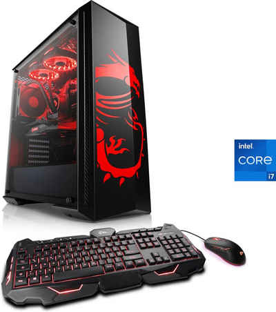 CSL HydroX V7320 MSI Dragon Advanced Edition Gaming-PC (Intel® Core i7 11700F, 32 GB RAM, 2000 GB HDD, 1000 GB SSD, Wasserkühlung)