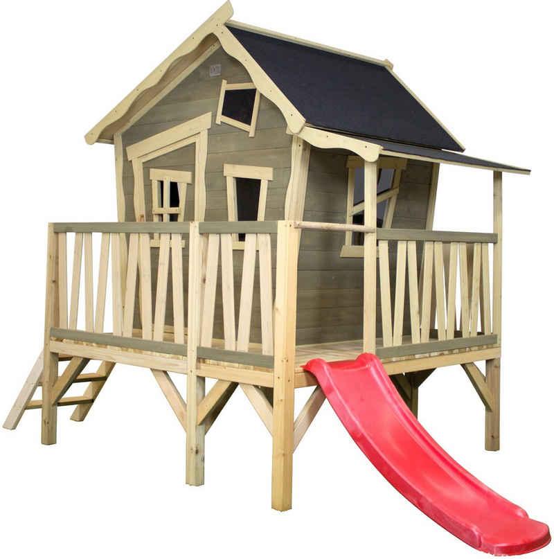 EXIT Spielturm »Crooky 350«, BxTxH: 313x180x229 cm