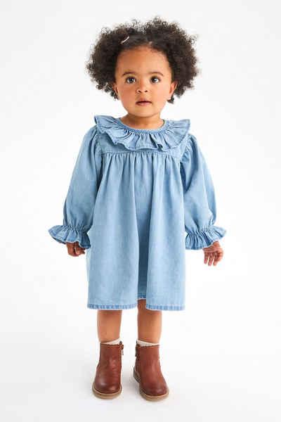 Next Jeanskleid »Kleid mit Rüschen« (1-tlg)