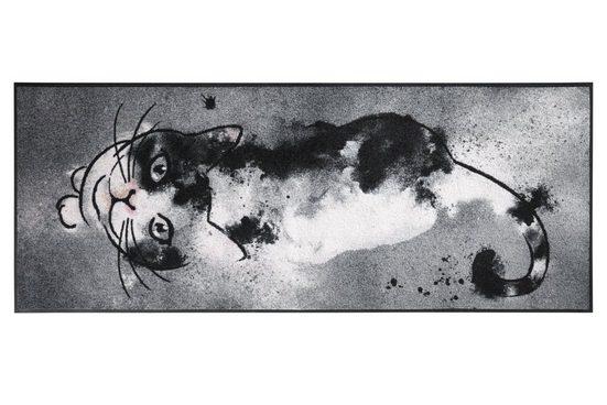 wash & dry Fußmatte Katze