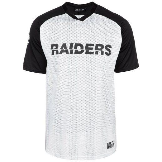 New Era T-Shirt »Nfl Oakland Raiders Stripe Oversized«
