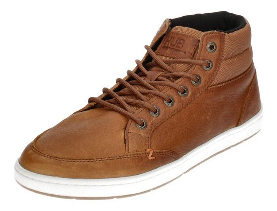 HUB »INDUSTRY 2.0 L48« Sneaker Cognac Off White Dark Gum
