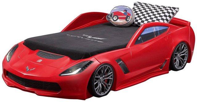 Kinderbetten - STEP2 Kinderbett »Corvette Z06«, BxLxH 127x257x61 cm »  - Onlineshop OTTO
