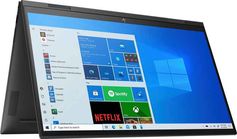 HP ENVY x360 Convert 15-eu0278ng Convertible Notebook (39,6 cm/15,6 Zoll, AMD Ryzen 7 5700U, Radeon Graphics, 512 GB SSD, Kostenloses Upgrade auf Windows 11, sobald verfügbar)