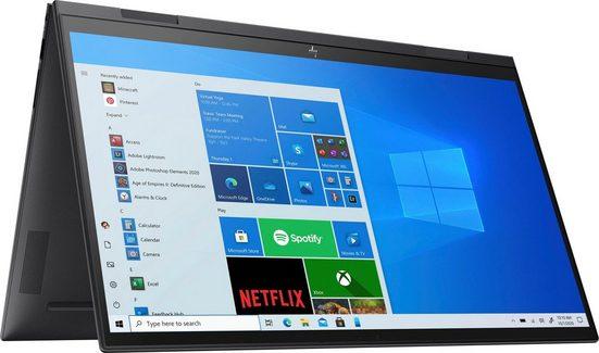 HP ENVY x360 Convert 15-eu0278ng Convertible Notebook (39,6 cm/15,6 Zoll, AMD Ryzen 7, Radeon Graphics, 512 GB SSD, Kostenloses Upgrade auf Windows 11, sobald verfügbar)
