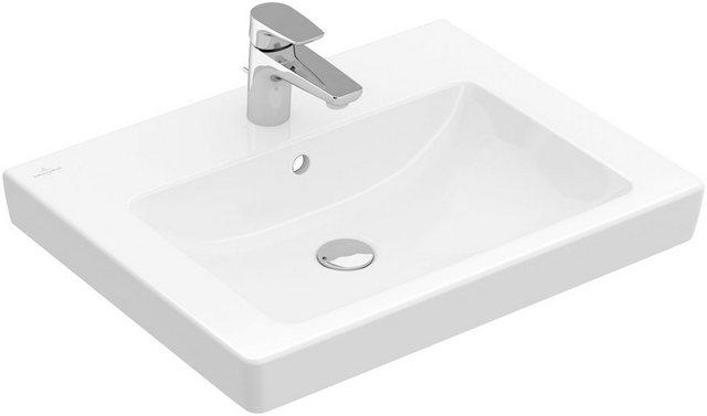 Waschtische - Villeroy Boch Aufsatzwaschbecken »Subway 2.0«, mit CeramicPlus Beschichtung und Überlauf  - Onlineshop OTTO