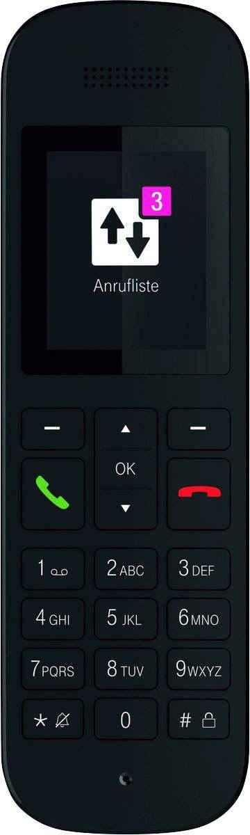 Telekom »Sinus 12« Schnurloses DECT-Telefon (Mobilteile: 1)