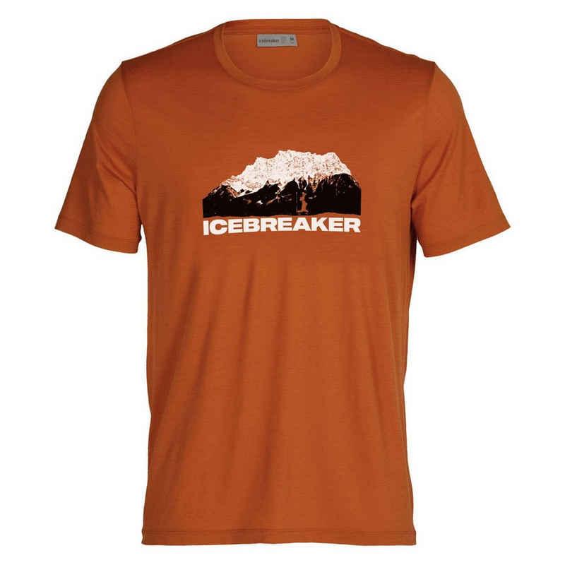 Icebreaker Kurzarmshirt »Herren T-Shirt Tech Lite II Mountain«