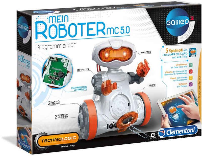 Clementoni® Experimentierkasten »Galileo Mein Roboter MC5.0«, Made in Europe