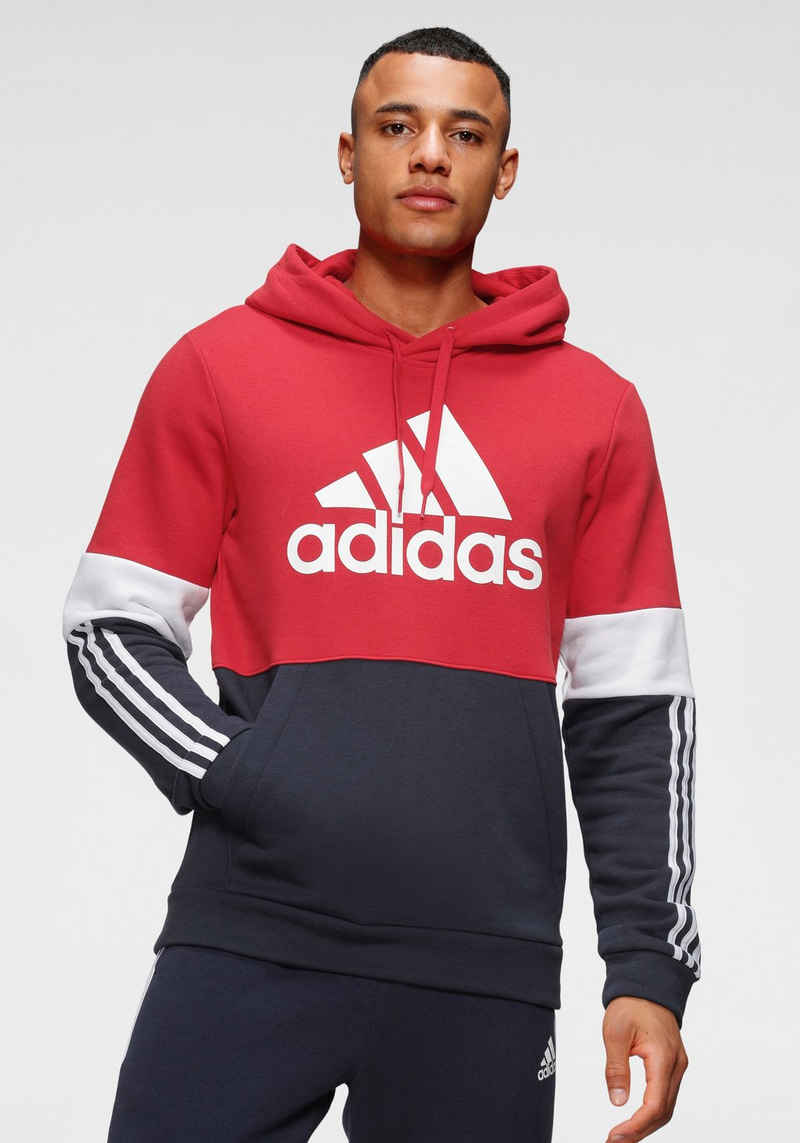 adidas Performance Kapuzensweatshirt »COLORBLOCK HOODED SPORT ESSENTIALS SWEATER«