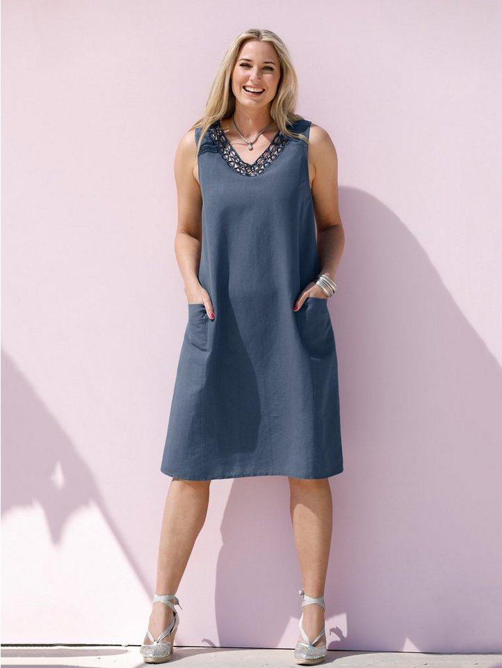 MIAMODA Kleid aus Baumwoll-Leinen Material kaufen | OTTO