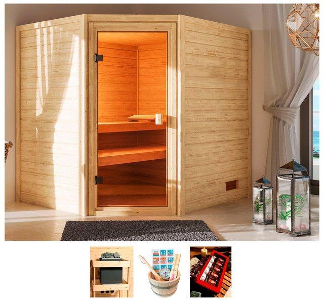 Saunen und Zubehör - KARIBU Sauna »Elli«, 195x169x187 cm, ohne Ofen  - Onlineshop OTTO