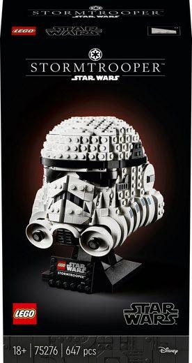 LEGO® Konstruktionsspielsteine »Stormtrooper™ Helm (75276), LEGO® Star Wars™«, (647 St), Made in Europe