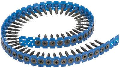 BOSCH Schnellbauschraube, Grobgewinde, S-G, 3,9 x 35 mm, Schraubengurt mit 1.000 Stück