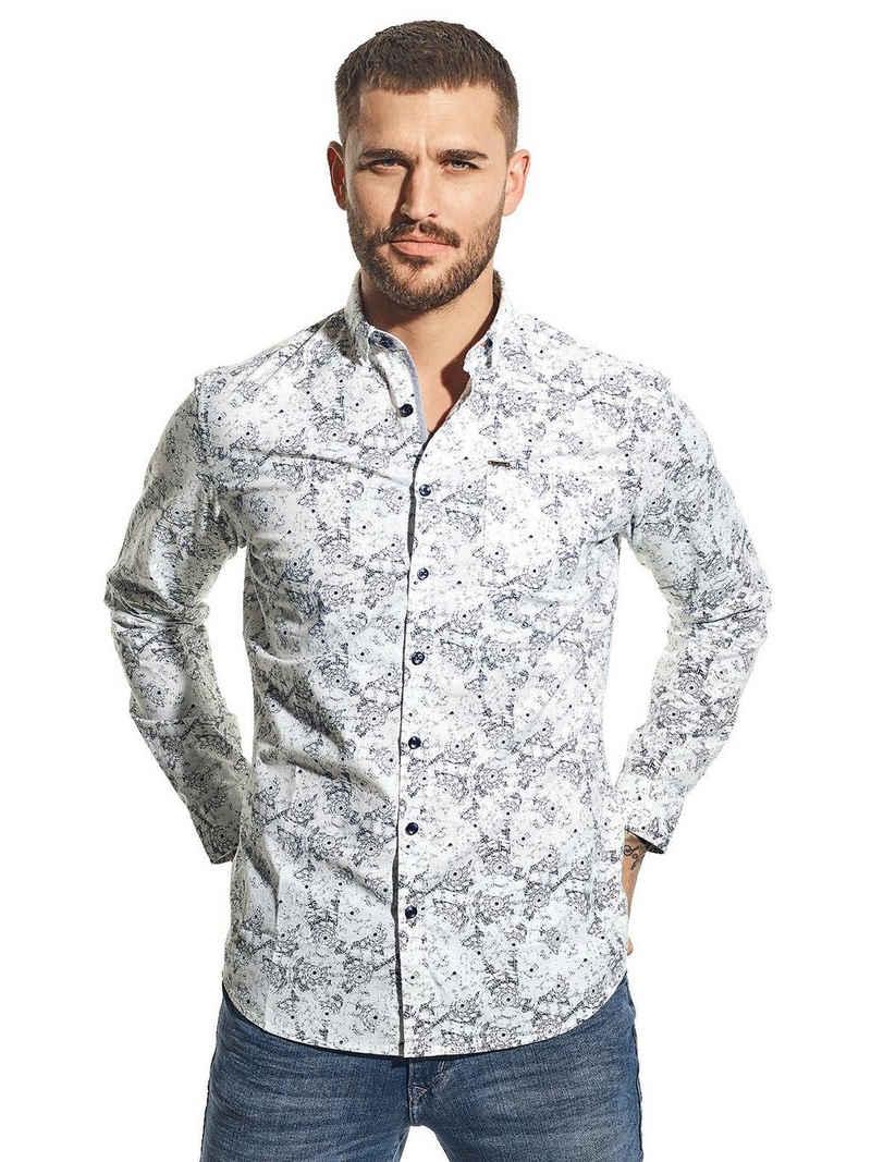 emilio adani Hemd »Modisches Hemd mit Print«