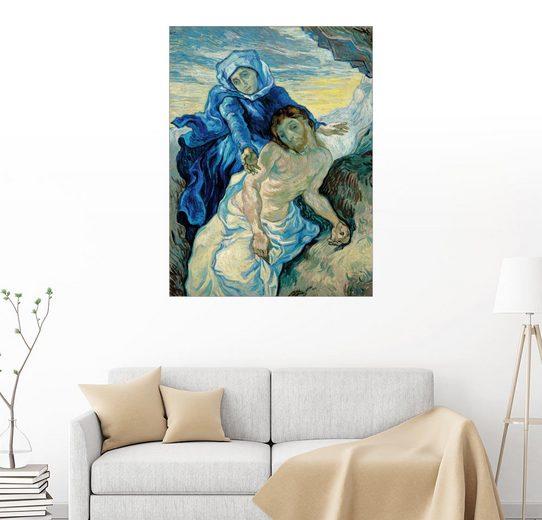 Posterlounge Wandbild, Premium-Poster Pietà