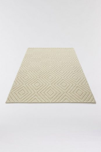 Teppich »Elbflunder«, elbgestoeber, rechteckig, Höhe 8 mm
