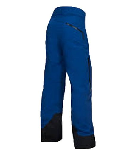 Peak Performance Skihose »Peak Performance Ski-Hose modische Damen Schnee-Hose mit seitlichen Eingrifftaschen Freizeit-Hose Blau«