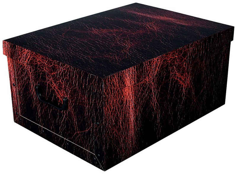 Kreher Aufbewahrungsbox »Dark Leather«
