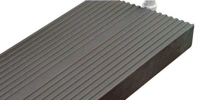 Trimax-Stufe für Außentreppe Gardentop, 80 cm, anthrazit