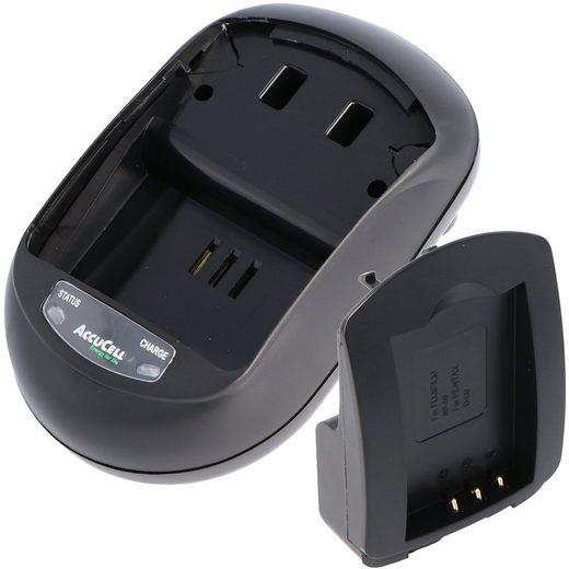 AccuCell »AccuCell Ladegerät passend für Ricoh DB-40, Caplio« Kamera-Ladegerät