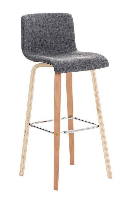 Sessel und Hocker - CLP Barhocker »Malone Stoff«, Vierfußgestell mit integrierter Fußablage  - Onlineshop OTTO