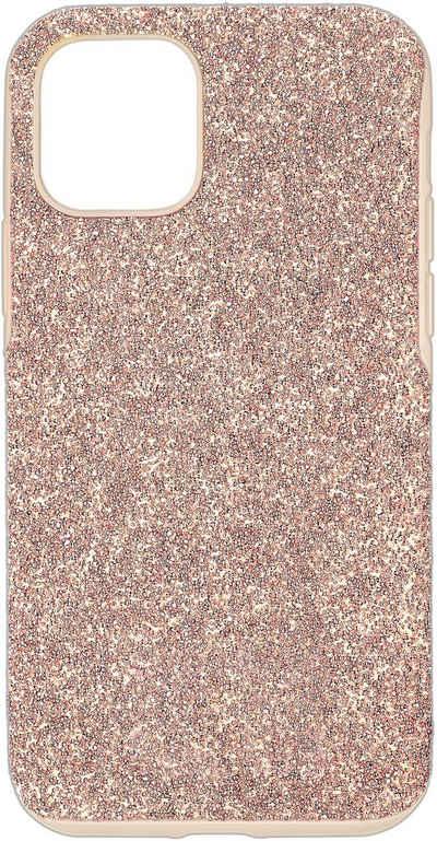 Swarovski Smartphone-Hülle »High Smartphone Schutzhülle mit Stoßschutz, iPhone® 12/12 Pro, rosa, 5616366« iPhone 12 Pro, mit Swarovski® Kristallen