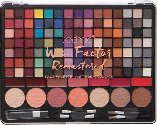 technic Augen-Make-Up-Set »WOW Factor Remastered«
