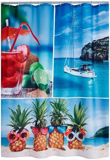 RIDDER Duschvorhang »Holiday«, ca. 180x200 cm