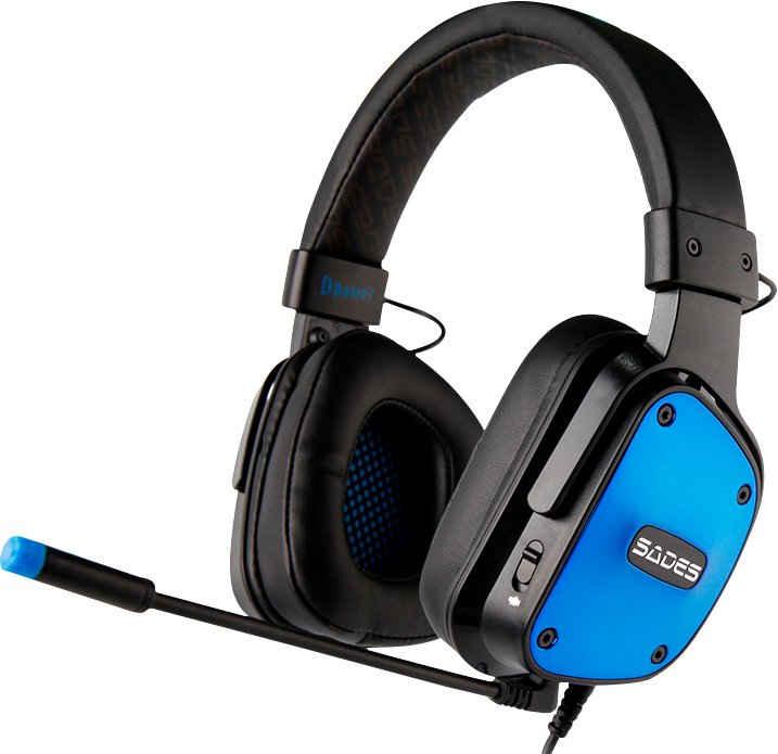 Sades »Dpower SA-722« Gaming-Headset (Kompatibel mit PS4, PS5, Xbox One, Xbox Series X/S und Nintendo Switch, kabelgebunden)
