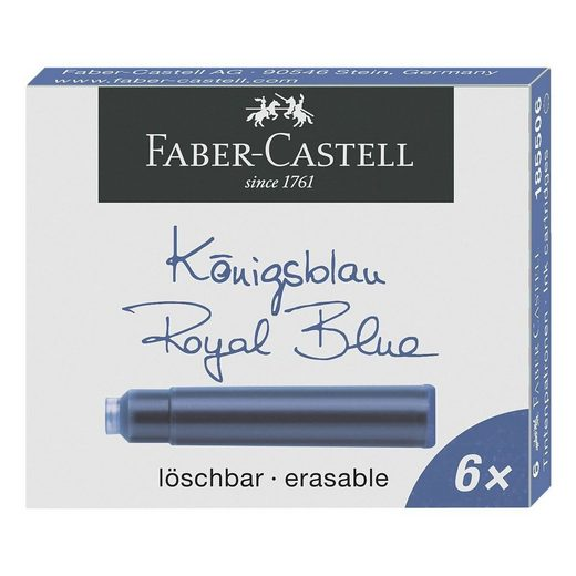 Faber-Castell Füllhalter »Standard«, (6-tlg), passend für viele Füllhalter