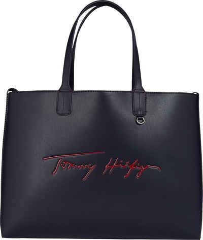 Tommy Hilfiger Shopper »ICONIC TOMMY TOTE SIGN«, kann gewendet werden