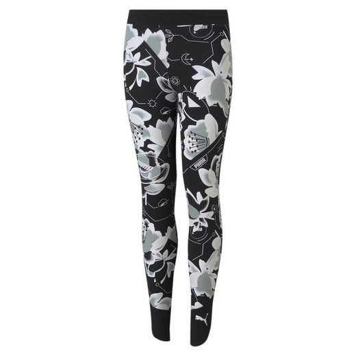 PUMA Leggings »Alpha Jugend Leggings mit All-over-Print«