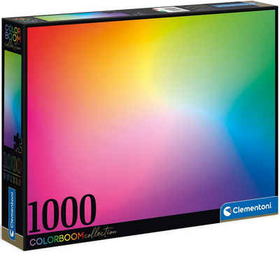Clementoni® Puzzle »Colorboom Collection - Pure«, 1000 Puzzleteile, Made in Europe, FSC® - schützt Wald - weltweit