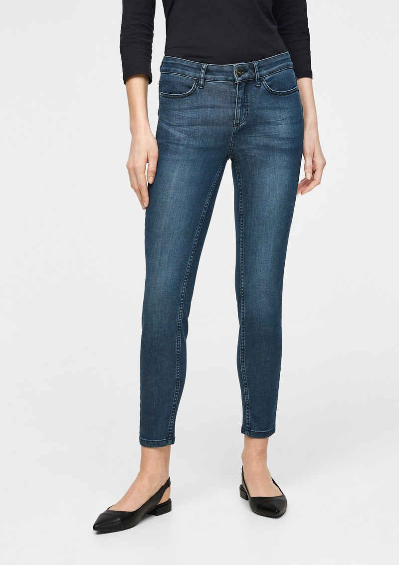 Comma 5-Pocket-Jeans »Skinny: Jeans mit Push Up-Effekt« Waschung