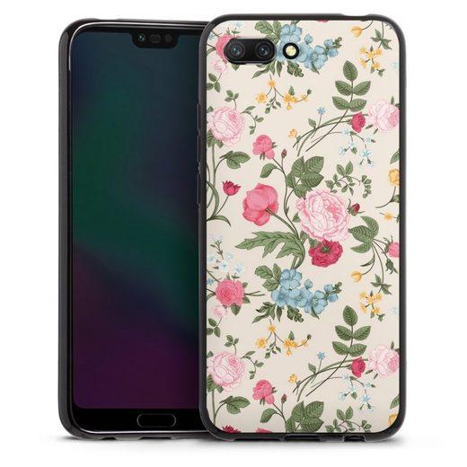 DeinDesign Handyhülle »Vintage Beauty« Huawei Honor 10, Hülle Vintage Ornamente Blume