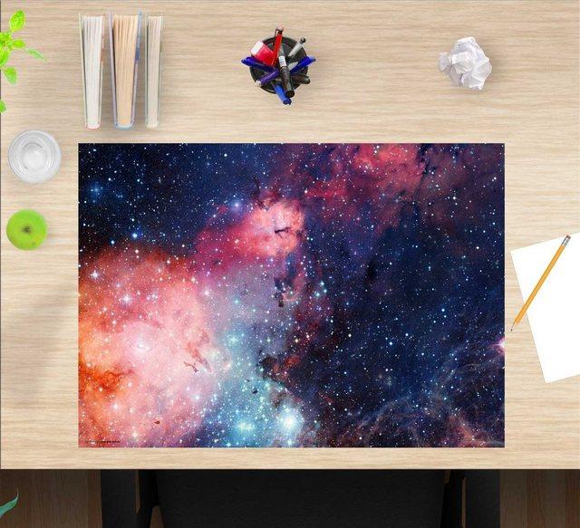 Kindertische - cover your desk.de Schreibtischaufsatz »Schreibtischunterlage für Kinder – Entfernte Galaxie – 60 x 40 cm – aus hochwertigem Vinyl«, (1 St)  - Onlineshop OTTO