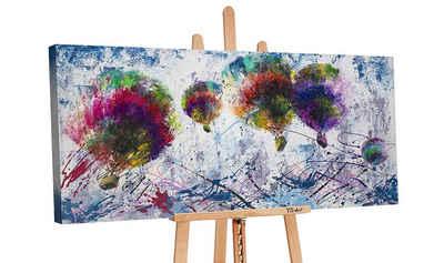 YS-Art Gemälde »Freiflug PS030«