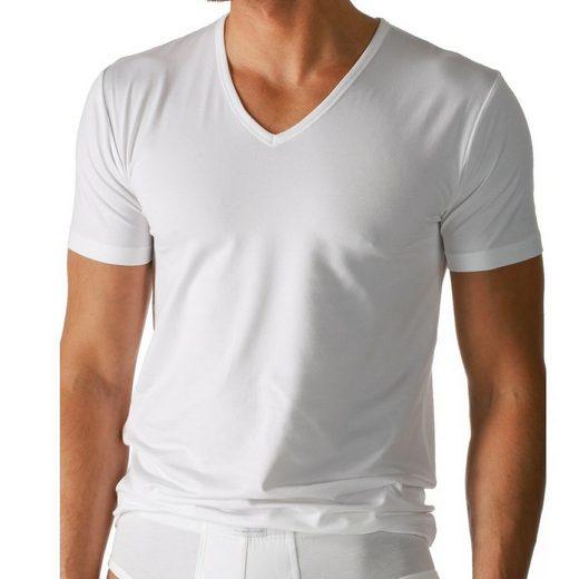 Mey Unterhemd »Dry Cotton T-Shirt mit V-Ausschnitt«, Thermoregulierend