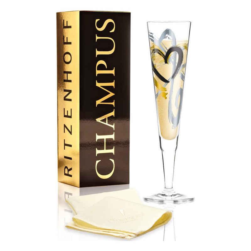 Ritzenhoff Champagnerglas »Champus Thomas Marutschke«, Kristallglas