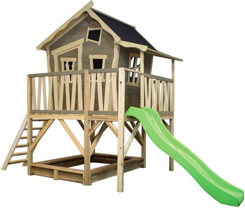 EXIT Spielturm »Crooky 550«, BxTxH: 381x180x259 cm