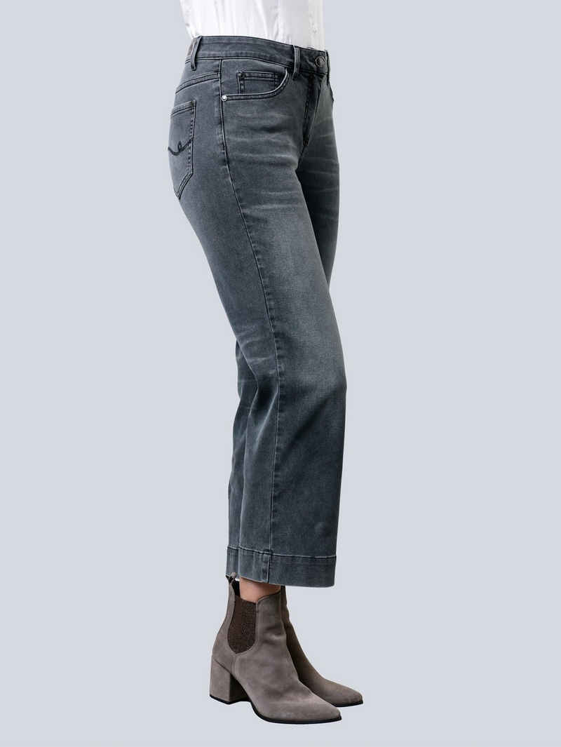 Alba Moda Weite Jeans in Culotte-Form