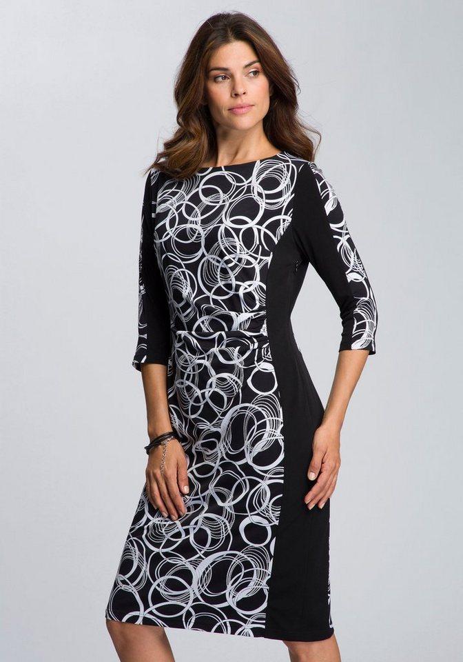 Festtagsmode - HERMANN LANGE Collection Cocktailkleid, Jerseykleid mit grafischem Druck ›  - Onlineshop OTTO