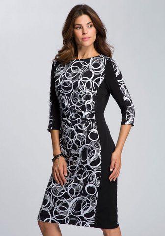 HERMANN LANGE Collection Kokteilinė suknelė suknelė su grafinis...