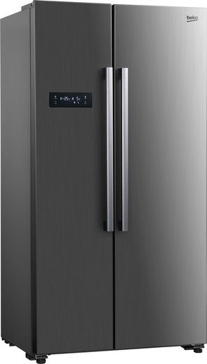 BEKO Side-by-Side GNO4331XPN, 177 cm hoch, 90 cm breit