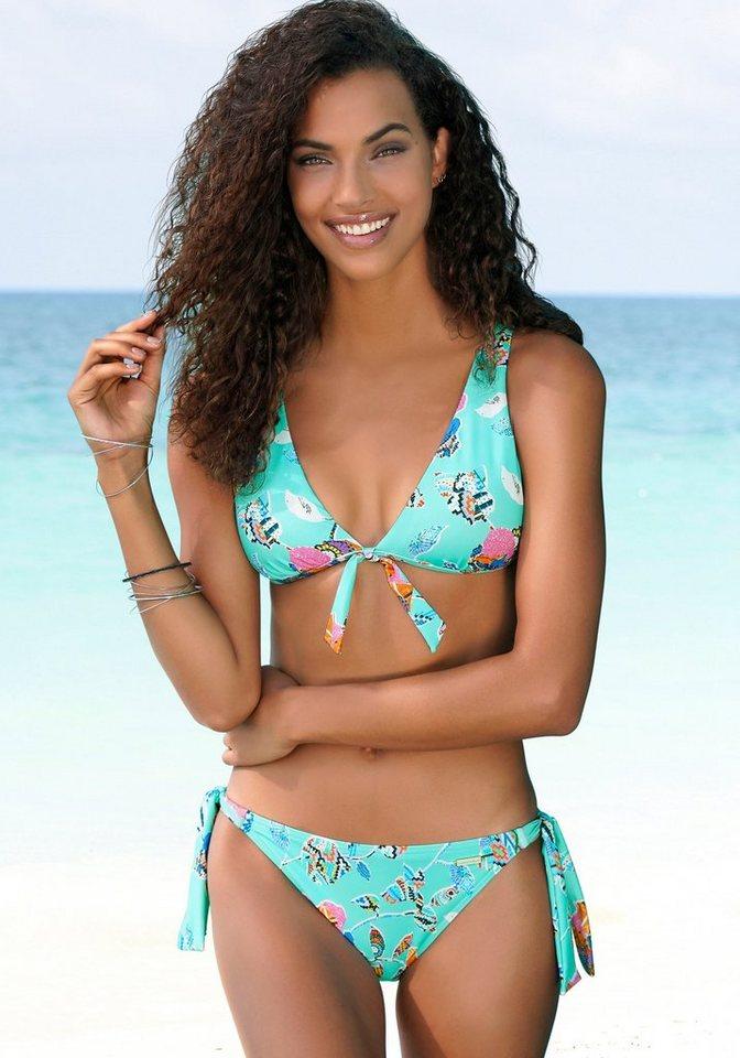 Bademode - Sunseeker Bikini Hose »Jam«, seitlich zum Binden › blau  - Onlineshop OTTO