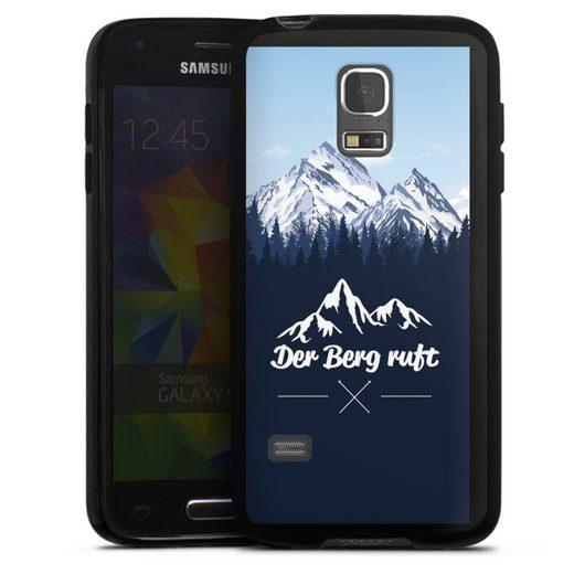 DeinDesign Handyhülle »Winterparadies« Samsung Galaxy S5 mini, Hülle Wanderlust Berg Himmel