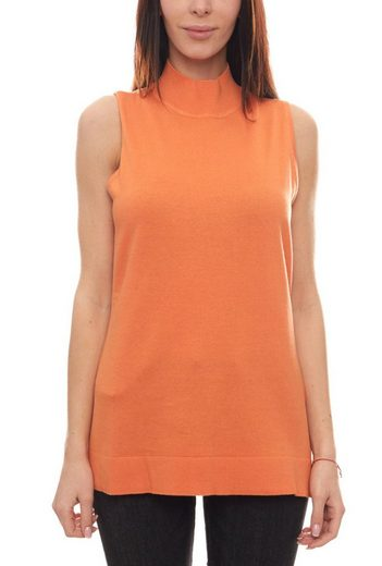 B.C. Best Connection by heine Rundhalspullover »B.C. Best Connections Strick-Pullover ärmelloser Damen Pullover Sweater Orange«